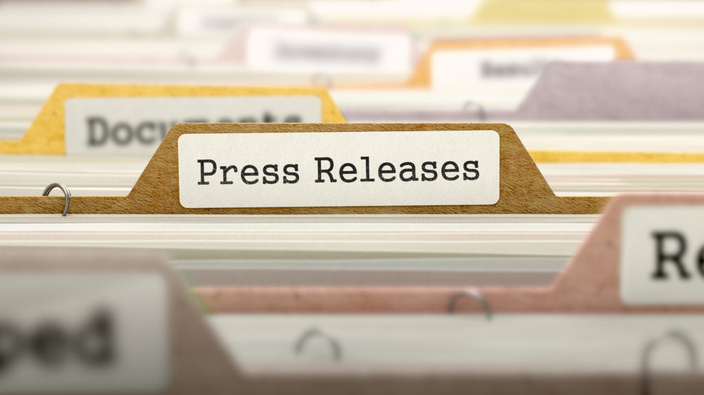 issue a press release strong estate marketing