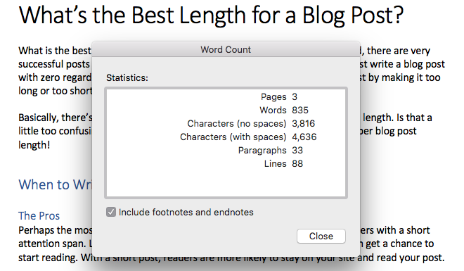 best length blog post - strong estate marketing
